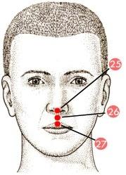 acupressureongv26forbrain/mentalfunction