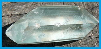 healing properties of double-terminated quartz crystal