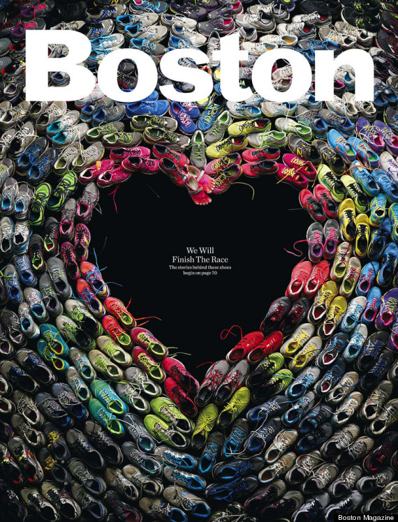 Boston Magazine runners' shoes gift of grace