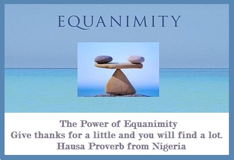 power of equanimity