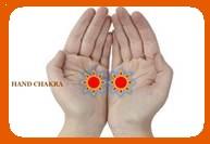 hand chakras transmit energy