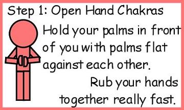 hand chakra energy