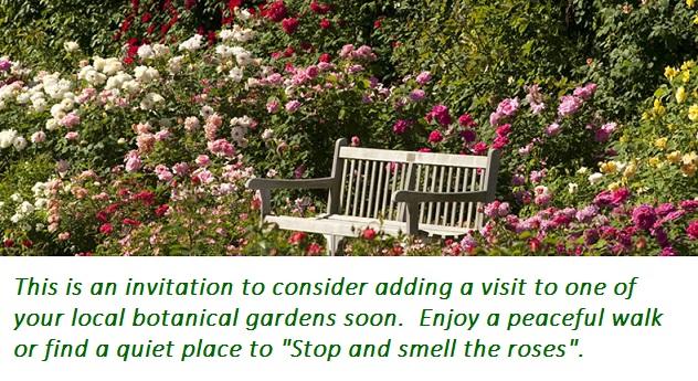 natures healing gife - botanical gardens.