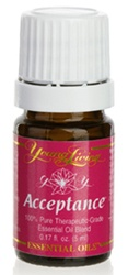 Acceptance Essentil Oil helps with making change