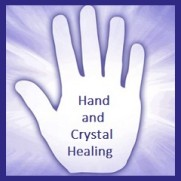 energy channeling with hand & crystal