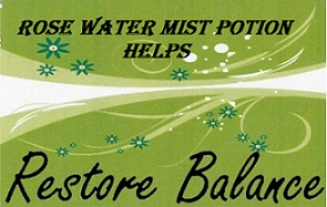 rose water potion restores balance