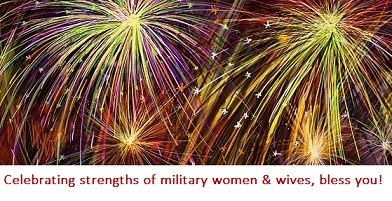 celebrating military women & wives