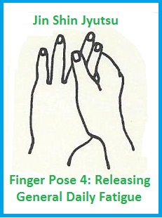 finger pose 4 releasing general daily fatigue