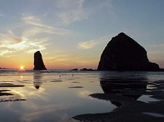 Nature's Healing Gift-Haystack Rock