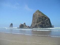 Nature's Healing Gift - Haystack Rock
