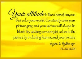 Tuesday's Healing Word - Attitude