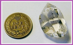 heailng with herkimer diamond