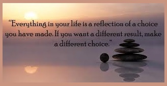 tuesday's healing word - choices