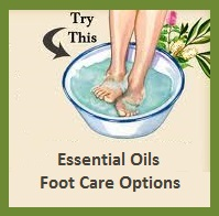 Essential Oils Healing Footbaths
