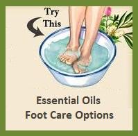 Essential Oils Healing Footbaths