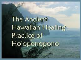 ho'oponopono peacemaking meditation