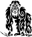 animal spirit guide - gorilla