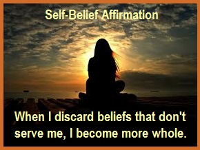Tuesday's healing words self-belief