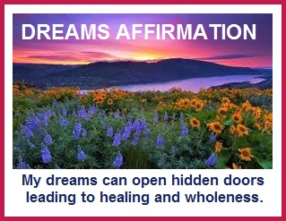 tuesday's healing word dreams