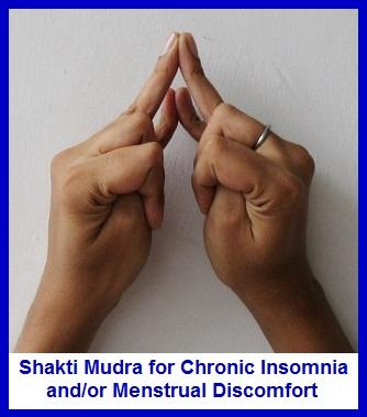 Shakti Mudra for Insomnia/Menstrual Discomfort