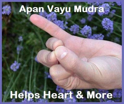 Heart Help - Mudra Apan Vayu