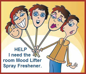 mood lifter air freshener spray