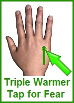 Triple Warmer Tap For Fear