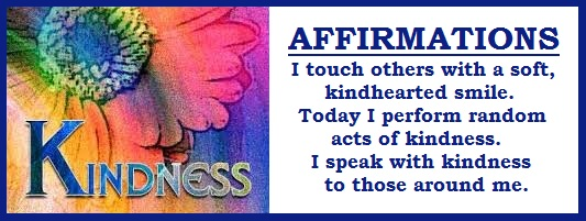 tuesday's healing word kindness