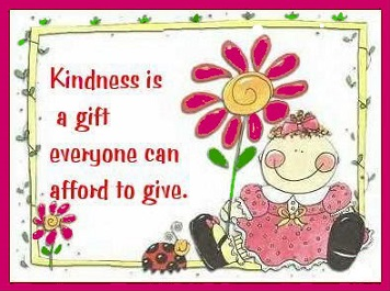 Tuesday's healing Word - Kindness