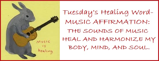 Tuesday's healing word music