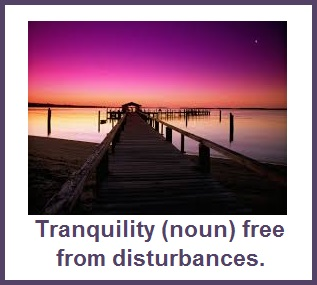 tuesday's healing word - tranquility