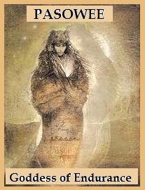 Pasowee - Goddess of Endurance