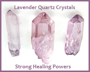 Lavender Quartz Strong Healing Power