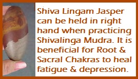 Shivalinga Mudra-Energy Charging
