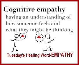 Tuesday's Healing Word is Empathy