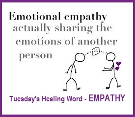 Tuesday's Healing Word Empathy