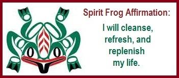 Animal Spirit Guide Frog