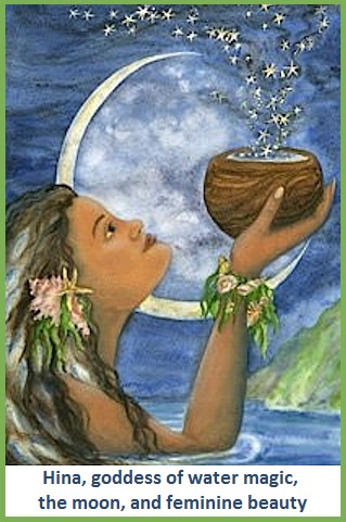 Polynesion Goddess Hina