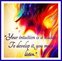 Tuesday's Healilng Word Intuition