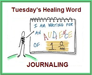 Tuesday's Healing Word Journaling