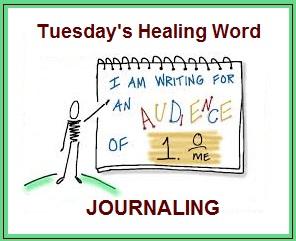 Tuesday's Healing Word Journaling