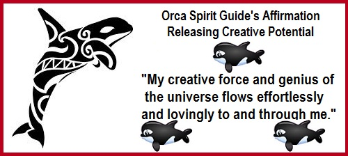 Animal Spirit Guide Orca