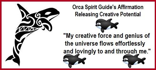 Animal Spirit Guide Orca