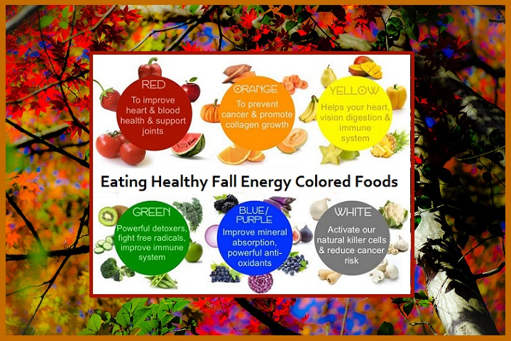 Foods For Color Energy Healing