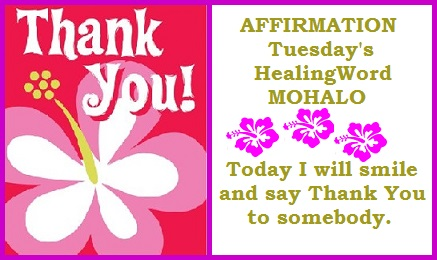 Tuesday' Healing Word Mohalo