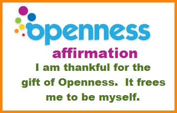 Tuesday's Healing Word Openness