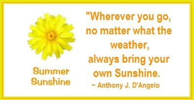 Tuesday's Healing Word - Sunshine