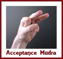 Acceptance Mudra
