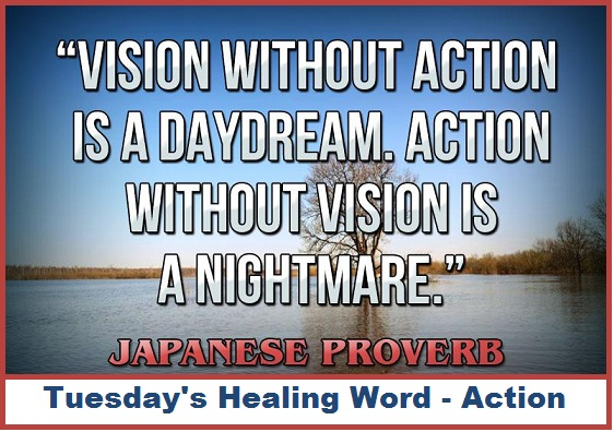 Tuesday's Healing Word Action