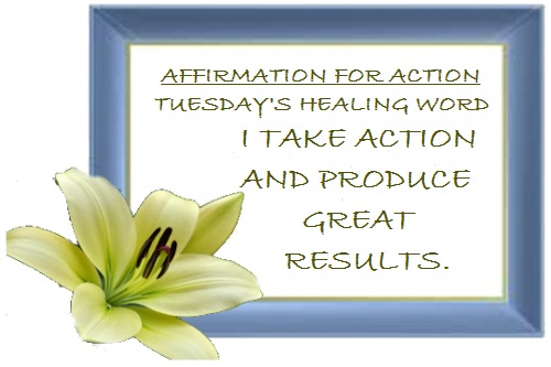Tuesday's Healing Word-Action